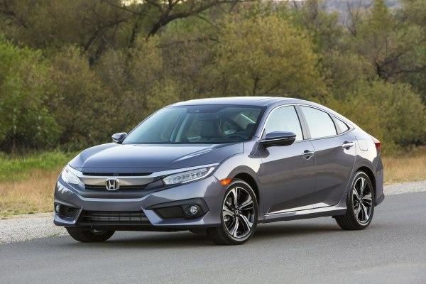 Honda Civic Sedan front side
