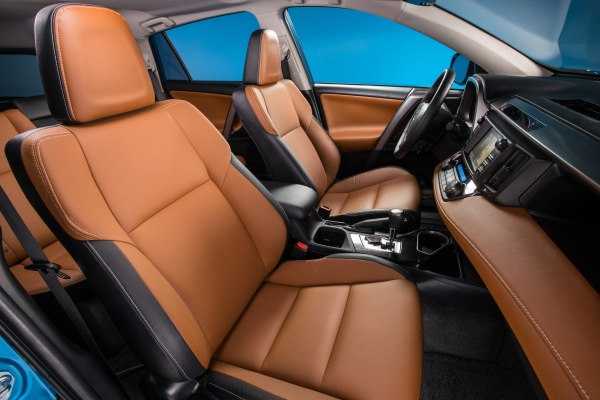 Toyota RAV4 front seat interior